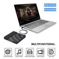 Grabadora Externa Unidad DVD Grabadora USB3.0 CD-RW Lector CD Portátil Universal