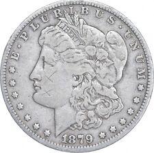 Early - 1879 Morgan Silver Dollar - 90% US Coin *005