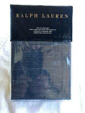 RALPH LAUREN-LAIGHT-KING PILLOWCASES (SET OF 2)-DARK BLUE