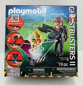 VENKMAN ghostbusters II 2 playmobil 9347 NEW playmobile PLAYMOGRAM 3D