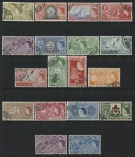 Bermuda QEII 1953 used set to £1