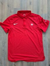 Nike Roger Federer Advantage Swiss Polo Tennis Shirt, Size M