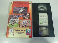 Cuando Algo Falla Carreras de Coches Golf Futbol Beisbol - VHS Cinta Español