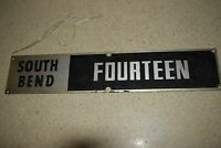 <RT> SOUTH BEND 14 FOURTEEN LATHE NAME PLATE  (P113)
