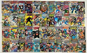 CAPTAIN AMERICA #249 to 402 Newsstand Variant Marvel 44pc Run Lot Collection