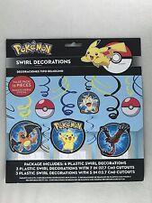 Pokemon Swirl Decorations Party Supplies