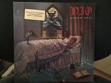 DIO DREAM EVIL LP 1987 WARNER 25612-1 RARE DJ PROMO WITH INNER & HYPE STICKER