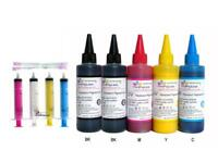 5 x 100ml Pigment Refill Ink for Epson Workforce WF-7110,WF-7610,WF-7620, T252