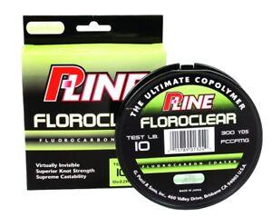 NEW! P-Line Floroclear 300-Yard Filler Fishing Line ( 15-Pound, Mist FCCFMGF-15