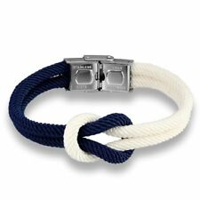 Nautical Bracelet Marine Nylon Jewelry Rope Womens Mens Infinity Bracelets Gift