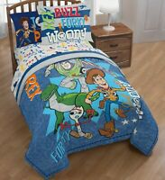 Toy Story 4 Twin Full Bedding Set 5 Piece Bed in Bag Comforter Sheets (2dayShip)