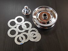 EMPI VW Bug Sand Rail Baja 3-Piece Kit Chrome 12 Volt Gen/Alt Pulley 9191/KT1020