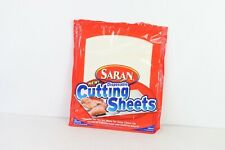 New Discontinued Saran Disposable Cutting Sheets Cutting Board Pack of 20