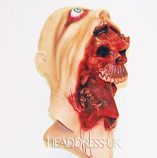 Charlie Skull Quality Latex Mask Fancy Dress Halloween Costume Office Party