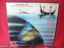 VENEZIA '81 LP 1981 Italy BATTIATO LORETTA GOGGI FORTIS DI CAPRI FOGLI NANNINI