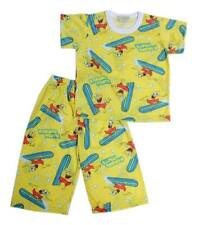 Surfing Sponge Bob Printed Pajama Set Boys Baby/Toddler Sleepwear, XXS (1-2 y/o)