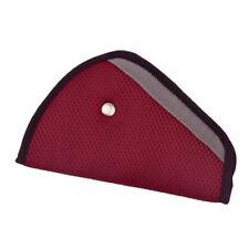 "One (1) "" Wine"" Color Seatbelt Adjuster Car Child Safety Cover Harness Seat belt"