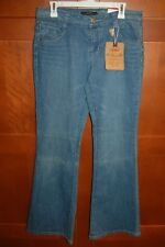 SOUTHPOLE MAMBO Denim Blue Jeans Size 13 Women LOW RISE FLARE SIGNATURE FIT NWT