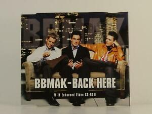 BBMAK BACK HERE (H1) 4 Track CD Single Picture Sleeve TELSTAR