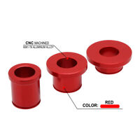 Front Rear Hub Wheel Spacers For XR250R 1996-2004 CRF230L 2008-2009 Red