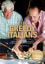 Two Greedy Italians : Season 1 (2 Disc DVD) REGION FREE - NEW SEALED - FREE POST