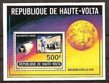 BURKINA FASO # 294 MNH APOLLO MOON MISSION