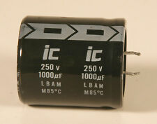 Capacitor - Electrolytic - 1000 MFD - 250 V - 100 Pieces