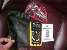 ETEK ITEM Model 10709 DIGITAL MUTIMETER tester EXCELLENT with case & manual