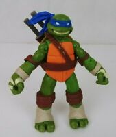 "2012 Playmate TMNT Teenage Mutant Ninja Turtles Leonardo 4 1/2"" Action Figure"