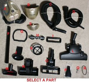 """Ultra Big Shark Euro-Pro X Vacuum Cleaner Model: HV166 """"REPLACEMENT PARTS"""""""