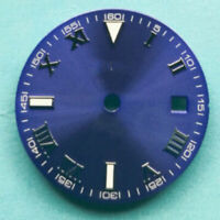 29MM Sterile Blue Watch Dial fit 2824 2836 2813 miyota 82 Series movement watch