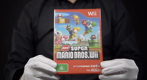 New Super Mario Bros Wii PAL Boxed - 'The Masked Man'