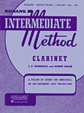 Rubank Intermediate Method - Clarinet (Rubank Educational Library), 4470170