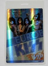 KISS Band VIP Backstage Pass Laminate Europe Alive 35 Concert Tour 2008