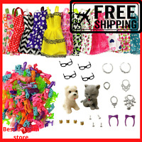 34 for Barbie Dolls Outfits Clothes  Accessories Shoes dresses Costumes dog cat