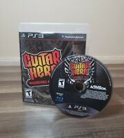 Guitar Hero: Warriors of Rock (PlayStation 3, 2010) PS3 Complete FREE SHIPPING!