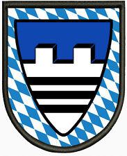 Wappen von Baierbrunn ,Pin, Aufbügler