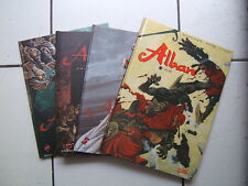 FOURQUEMIN / SERIE COMPLETE  ALBAN  1 A 4     / EO