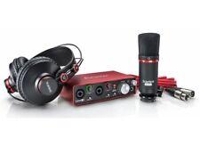 Focusrite Scarlett 2i2 Studio - Kit with Sound Card Microphone Headset
