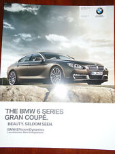 BMW 6 Series Gran Coupe range brochure Jul 2013 ed 2 full brochure