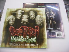 LORDI - MONSTEREOPHONIC - 2LP CLEAR VINYL NEW SEALED 2016 - LTD. ED. 500 UNITS