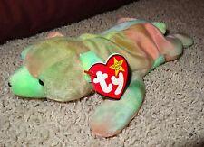 TY Beanie Baby Sammy Bear Tie Dye Colors 1998 Tie Dye PE Pellets Tags Retired TH