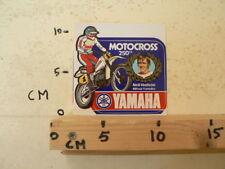 STICKER,DECAL NEIL HUDSON MITSUI YAMAHA 250 CC MOTOCROSS MX NO 1
