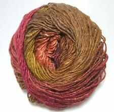 Noro Silk Garden Mohair Wool Olive Magenta Brown Yarn per Skein Color 423 Lot A