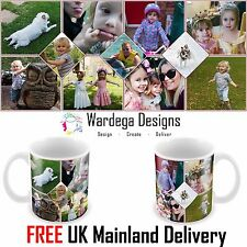 PERSONALISED MUG 11 PHOTO COLLAGE ADD ANY IMAGES CUSTOM DESIGN GIFT BIRTHDAY CUP