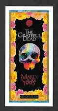 Grateful Dead Last Mardi Gras Shows Oakland Concert Handbill 1995