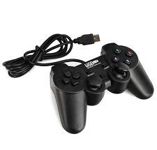 Manette Contrôleur USB Filaire Joypad Joystick Game Pour Jeu PC Ordinateur Noir