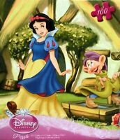 Details about  /48 Piece Disney Princess Snow Puzzle NEW in Cube Shaped Box