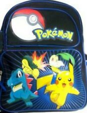 Pokemon Pikachu Backpack New with tags 16 Inch x 12 Inch x 4.5""