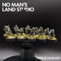 Pro Painted 28mm german volksgrenadier Squad  (Metal) Warlord Games Bolt Action